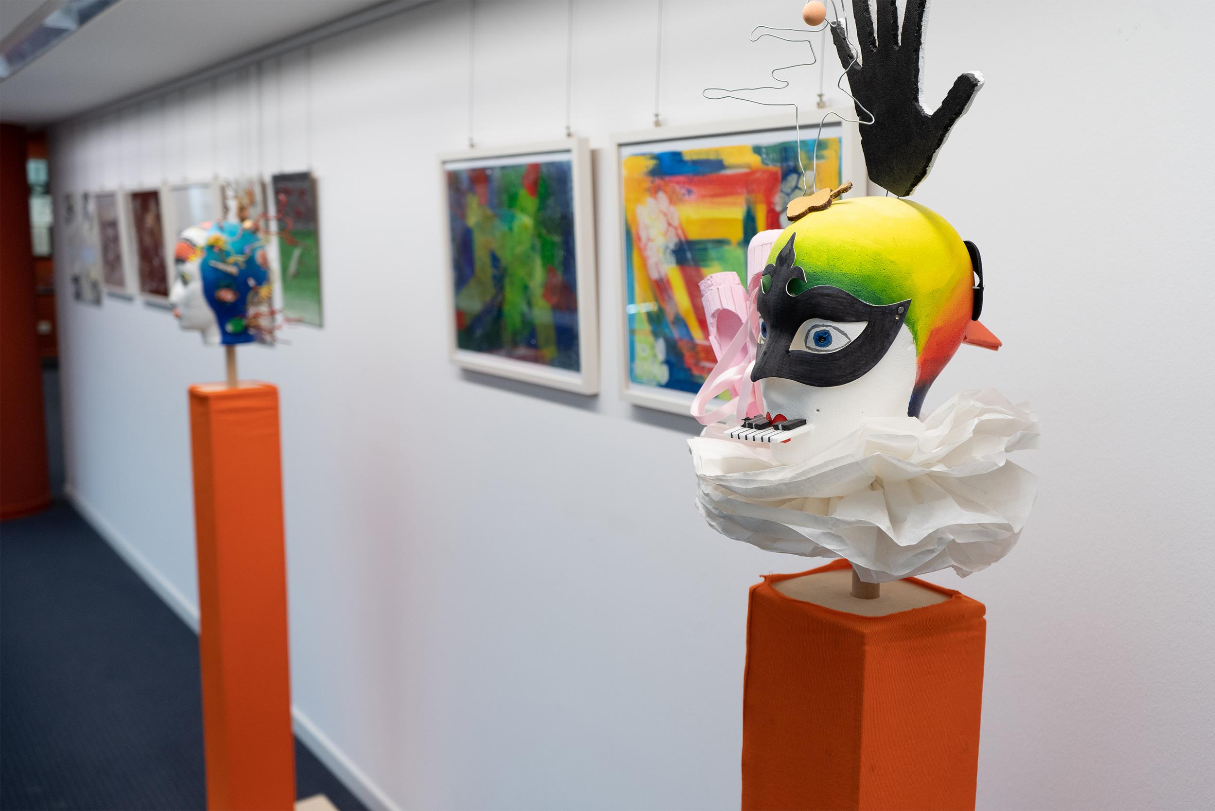 Ausstellung Schulkünstlerprojekte